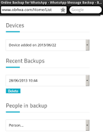 Screenshot of Auto Backup for WhatsApp