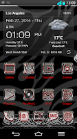 Screenshot of Next Launcher 3D Theme Zebra