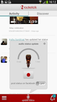 Screenshot of RockeTalk