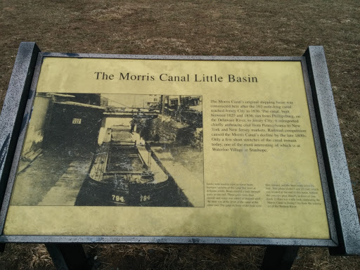 The Morris Canal Little Basin