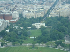 View from the George Washington Monument