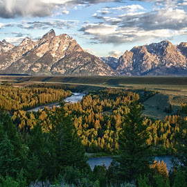 Snake River by Matt Bryant - Landscapes Mountains & Hills ( grand teton national park )