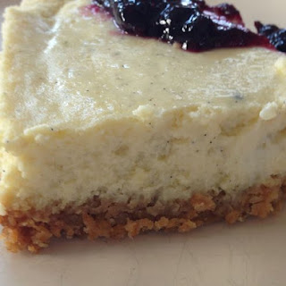 Grits Cheesecake with Granola Crust