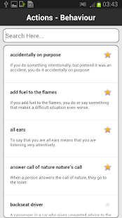 Idioms & Phrases Dictionary- screenshot thumbnail