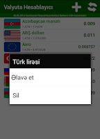 Screenshot of Valyuta Hesabla