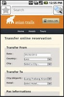 Screenshot of Laos Travel Guide