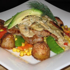 Veal Chops With Avocado