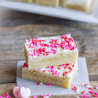 White Chocolate Sugar Cookie Bars