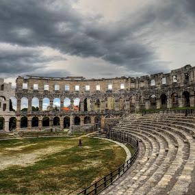 Arena Pula by Siniša Biljan - Buildings & Architecture Public & Historical (  )