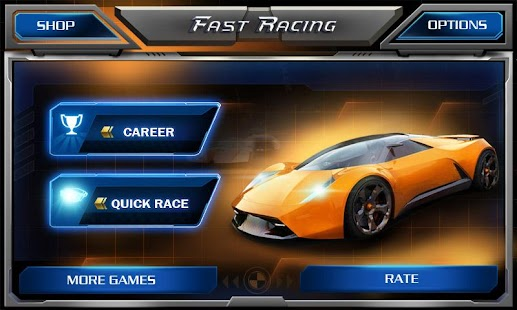 Game Fast Racing 3D APK for Kindle
