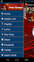 Screenshot of Music Massage - BlakeRadio.com