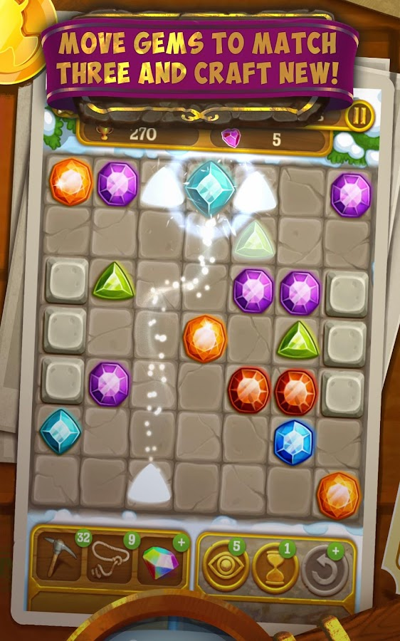Gemcrafter: Puzzle Journey Screenshot 14