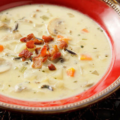 Mushroom and Wild Rice Chowder