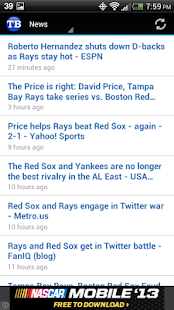 Tampa Bay Baseball - screenshot