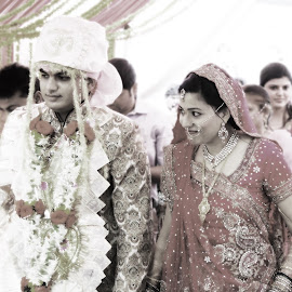 by Rahul Pathak - Wedding Reception ( weddings, indian wedding )