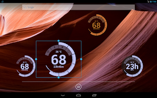 Screenshot of Battery Circle Widget