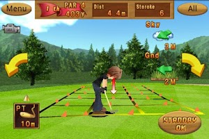 Screenshot of Cup! Cup! Golf 3D!