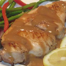 Orange Glazed Swordfish