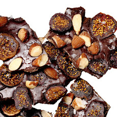 Dried Fig-Smoked Almond Bark