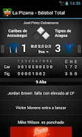 Screenshot of La Pizarra - Beisbol Total