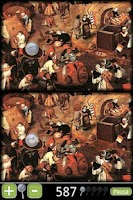 Screenshot of Bruegel/Paranoid Differences