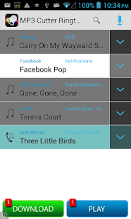 Make MP3 Ringtones - screenshot