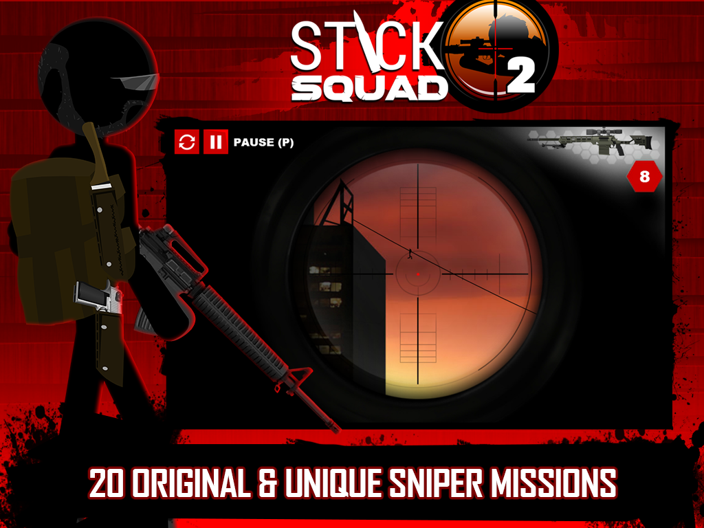 Stick Squad 2 - Shooting Elite Screenshot 12
