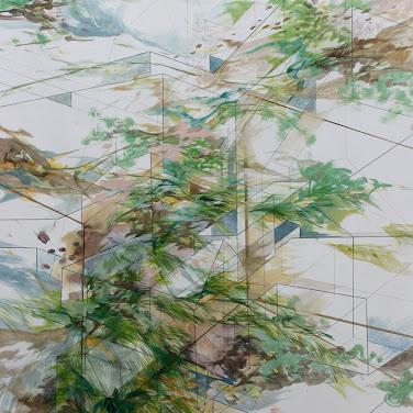 Obraz: Land 1 - Katarzyna Adamek