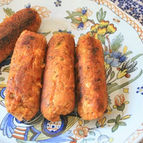 Andouille Sausages (Vegan and Gluten-Free)