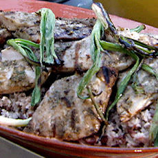 Grilled Mahi Mahi with Jerk Spice