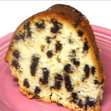 Nana's Chocolate Chip Brandy Pound Cake