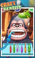 Screenshot of Crazy Dentist - Fun games