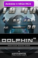 Screenshot of dolphin video ringtone