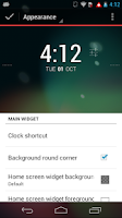 Screenshot of Better DashClock Key