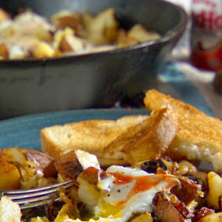 Hashbrown Egg Topper