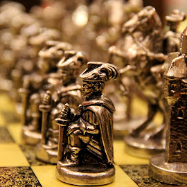 Game of Life by Rasika Chaudhary - Artistic Objects Other Objects ( games, toys, chess, perspective, pawns )
