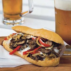 Smoky Philly Cheesesteaks