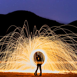 Love Bursts by Yansen Setiawan - Wedding Other ( creative, silhouette, art, losangeles, illusion, nightshoot, love, fineart, yansensetiawanphotography, prewedding, d800, wedding, lifestyle, la, photographer, fireworks, siluet, yansensetiawan, nikon, yansen, engagement )