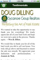 Screenshot of Doug Dilling REALTOR®