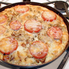 Potato and Vegetable Frittata