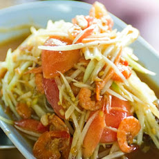 Bangkok Street Food's Green Papaya Salad