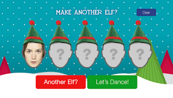 Screenshot of Elfyourself by Officemax