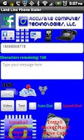 Screenshot of Land Line Phone Dialer