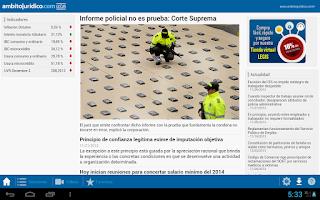 Screenshot of AmbitoJuridico.com