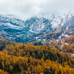 Swiss Mountain Alps by Kean Low - Landscapes Mountains & Hills