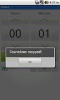 Screenshot of Stopwatch