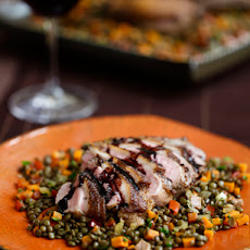Pan-Seared Five-Spice Duck Breast with Balsamic Jus