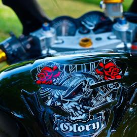 MY MOTO 2 by Ovidiu Armulescu - Transportation Motorcycles