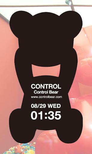 Control Bear clock