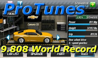 Screenshot of Drag Racing Pro Tunes
